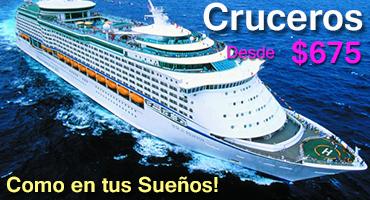 Cruceros por Caribe